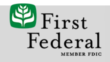 First Federal Savings and Laon